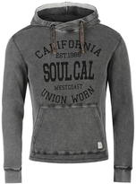 Soulcal Delux Waffle Hoody Mens