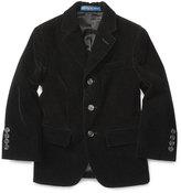 Ralph Lauren Velvet Polo Jacket, Black, Size 2-7