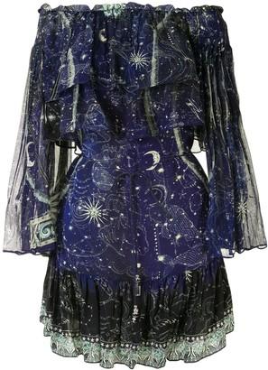 Camilla It's a Sign ruffle dress