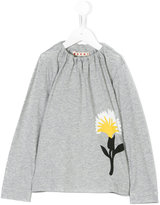 Marni flower print long sleeve T-shirt