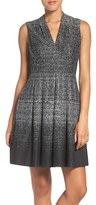 Vince Camuto Women's Jersey Knit Fit & Flare Dress