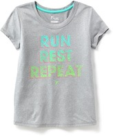 Old Navy Go-Dry Cool Graphic Crew-Neck Tee for Girls