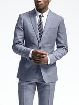 Banana Republic Slim Light Blue Wool Suit Jacket