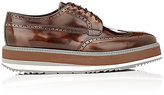 Prada Men's Wingtip Platform Bluchers