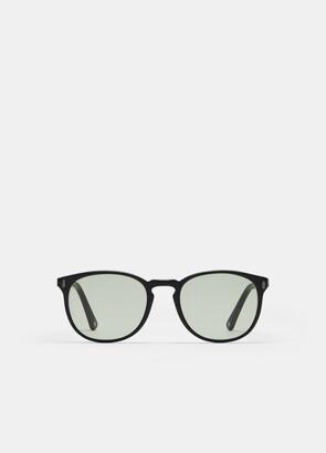 DOM VETRO / Jet Black Matte Sunglasses