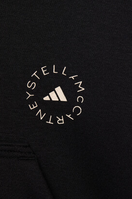 adidas by Stella McCartney Printed Cotton-blend Fleece Hooded Track Jacket