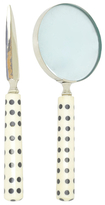 Three Hands Polka Dots Magnifying Glass and Letter Opener (2 PC)