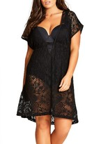 City Chic Plus Size Women's Deco Cover-Up Caftan