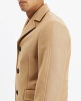 Jaeger Wool Camel Overcoat