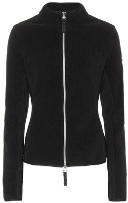 Jet Set Slim fit fleece jacket