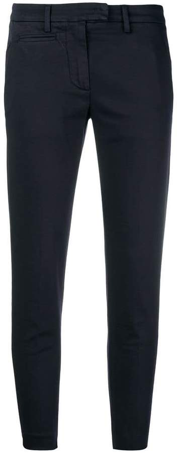 Dondup tailored slim fit trousers