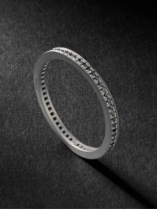 Miansai Eclipse Sterling Silver Diamond Ring