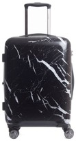 CalPak Astyll 22-Inch Rolling Spinner Carry-On - Black
