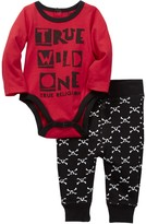 True Religion True Wild One Bodysuit & Pant Set (Baby Boys)