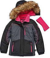 Weatherproof Girls Heavyweight Ski Jacket-Big Kid