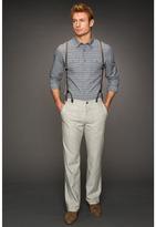 John Varvatos Suspender Split Back Trouser (Sage Brush) - Apparel