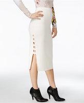 GUESS Yoshi Cutout Midi Skirt