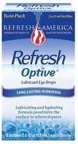 Refresh Optive Moisturizing Dry Eye Solution - 2 Count