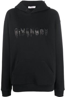 Givenchy Cascade Logo Hoodie