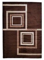 Falkville Brown Indoor/Outdoor Area Rug Ebern Designs Rug Size: Rectangle 3' X 5'