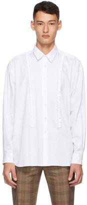 Molly Goddard White Poplin Jessie Shirt