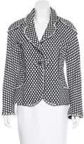 Chanel Fringe-Trimmed Patterned Jacket