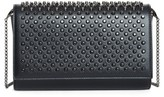Christian Louboutin Paloma Spike Leather Clutch - Black
