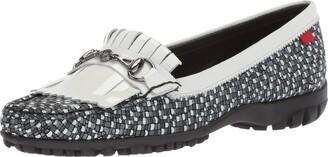 Marc Joseph New York Women's Golf Leather Made in Brazil Lexington Performance Fashion Shoe Moccasin