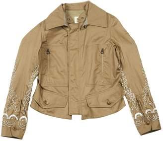 Coast Weber & Ahaus Khaki Cotton Jackets