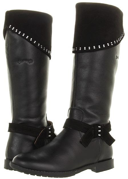 Garvalin Kids 121638 (Toddler/Youth) (Black) - Footwear