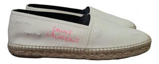 Saint Laurent Beige Cloth Espadrilles