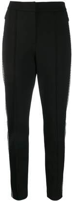 Escada Sport houndstooth stripe trousers