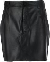 FEDERICA TOSI Pelle mini skirt