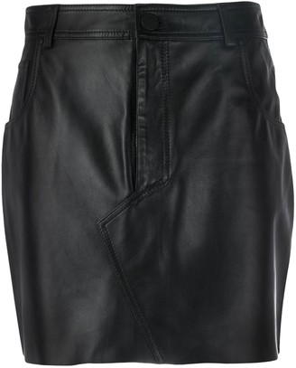 FEDERICA TOSI Pelle mini skirt
