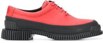 Camper Pix color-block lace-up shoes