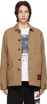 Thumbnail for your product : SSENSE WORKS SSENSE Exclusive 88rising Brown Workwear Chore Jacket