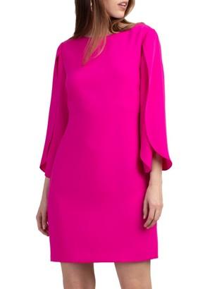 Trina Turk Battista Tulip-Sleeve Dress