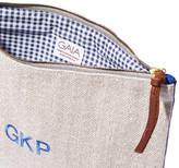 Gaia Personalized Clutch Handbag in Blue