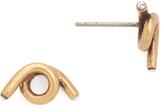 Marc Jacobs Twisted Single Wrap Stud Earrings