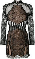 Alexander Wang sheer lace dress
