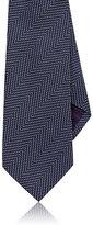 Ralph Lauren Purple Label Men's Herringbone Silk Necktie
