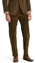 "Tailorbyrd Corduroy Flat Front Classic Pants - 30-34"" Inseam"