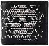Alexander McQueen studded billfold wallet