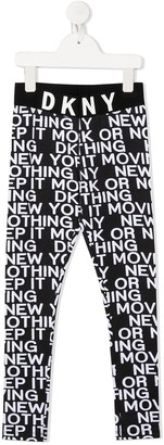 DKNY Slogan Print Trousers