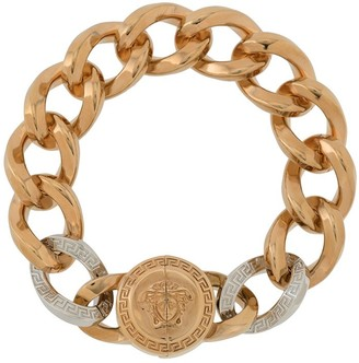 Versace chain-link Medusa detail bracelet