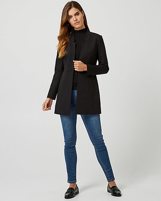 Le Château Ponte Notch Collar Relaxed Fit Blazer