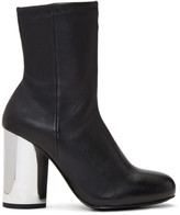 Opening Ceremony Black Zloty Boots