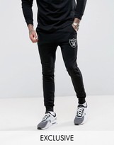 Majestic Raiders Skinny Joggers Exclusive to ASOS
