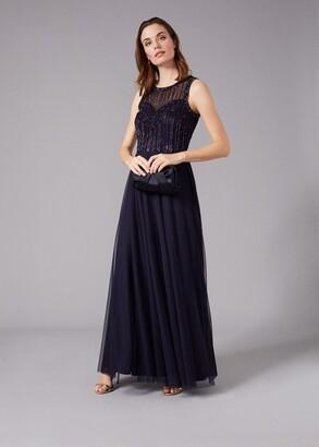 Phase Eight Martha Beaded Maxi Dress