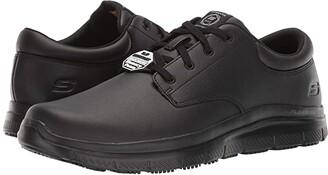 Skechers Flex Advantage SR Fourche (Black) Men's Shoes